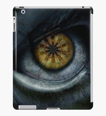 Evil Eye Darts Focus iPad Case/Skin