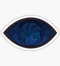 Pegatina Una serie de personajes de eventos desafortunados Netflix Series Eye Window