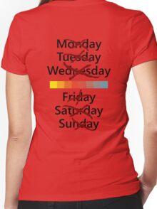 Thursday or nothing Women's Fitted V-Neck T-Shirt