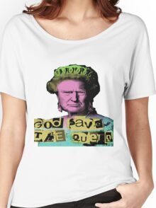 Donald J Trump God Save The Queen - Sex Pistols Women's Relaxed Fit T-Shirt