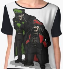 Commissar plumbers  Chiffon Top