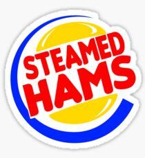 Steamed Hams Bright Logo Sticker