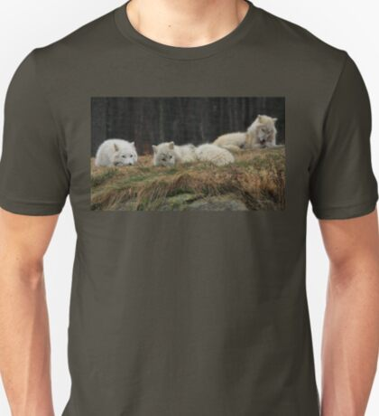 Peaceful Wolf Pack T-Shirt