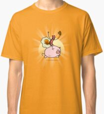 Bacon & Egg Ride Pig Classic T-Shirt