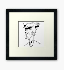 count olaf Framed Print