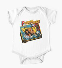 Freedom Force - NES Box Art One Piece - Short Sleeve