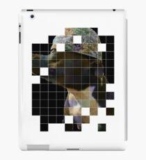 Pitbull in baseball cap iPad Case/Skin