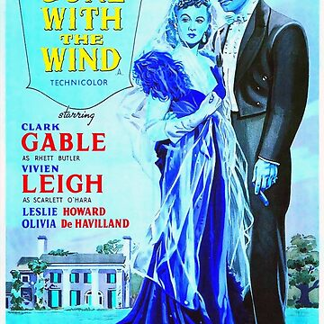 English poster of Gone with the Wind by artcinemagaller
