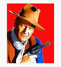 John Wayne in Rio Bravo Photographic Print