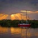Early morning Port Stephens by DBigwood