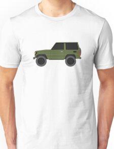 Toyota Land Cruiser BJ70  (machito) (renati.rzdm@gmail.com) Unisex T-Shirt