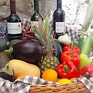 A Restaurant In Dubrovnik by Fara