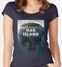 Oak Island Nova Scotia Canada Women's Fitted Scoop T-Shirt