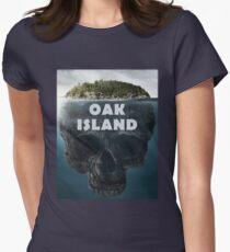 Oak Island Nova Scotia Canada Women's Fitted T-Shirt
