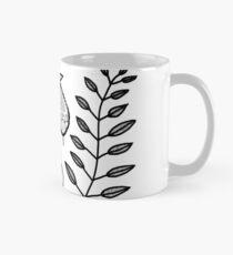 Patterned Leaves Mug