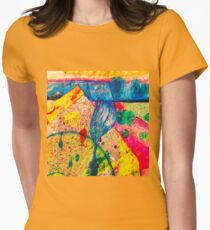 Cancer Moon Mother Womens Fitted T-Shirt