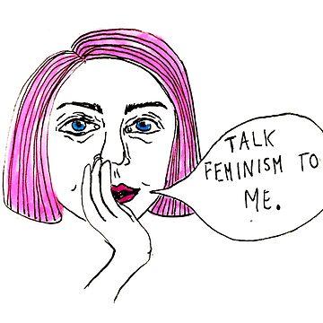 talk feminism to me by emmapinezich