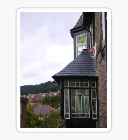 quaint windows Sticker