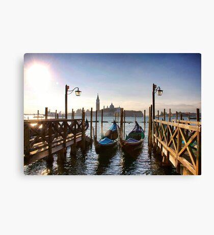 Iconic Venice Canvas Print