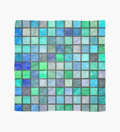 Tile Squares Design by Julie Everhart Scarf