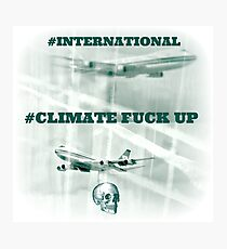 #CLIMATE Photographic Print