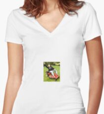 D'Anna's ride! Women's Fitted V-Neck T-Shirt
