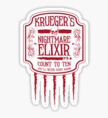 Krueger's Nightmare Elixir Sticker