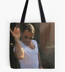 Salt Bae Sprinkle Chef meme graphic awesomeness Tote Bag