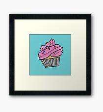 Cupcake with Sprinkles Framed Print
