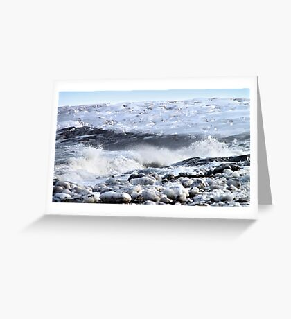 Breakers on the Shore Greeting Card
