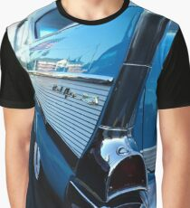 Blue Chevy BelAir Graphic T-Shirt