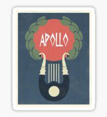 Apollo Sticker