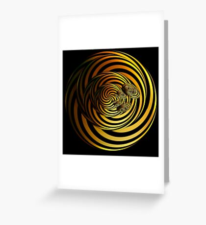 I Go In Circles by Julie Everhart Greeting Card