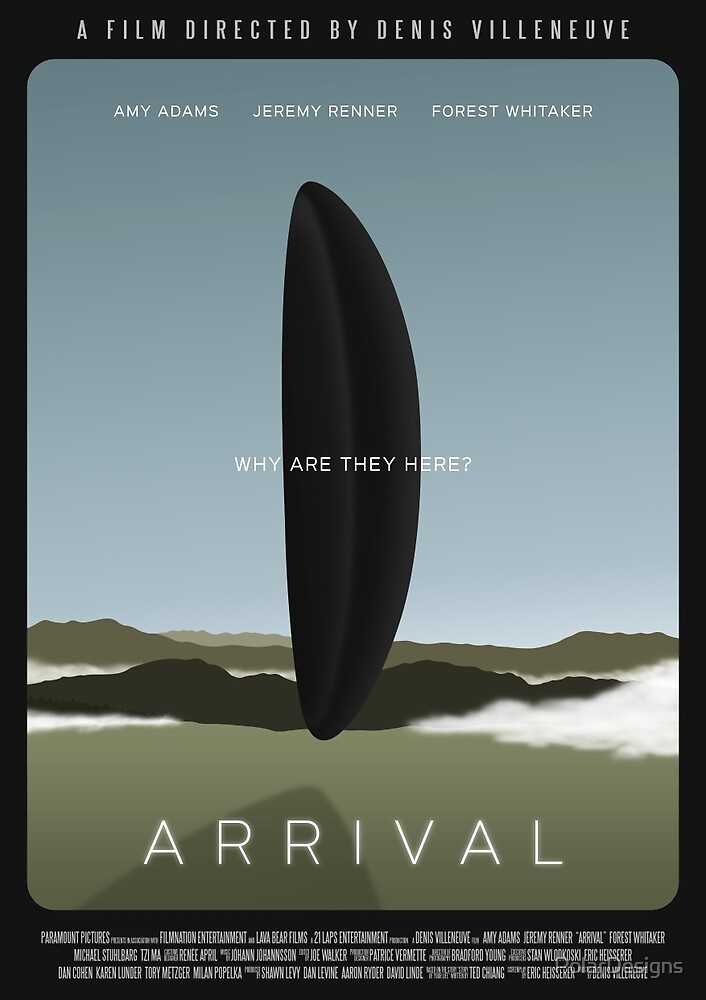Arrival film poster by PolarDesigns