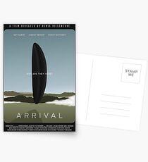 Arrival film poster Postcards