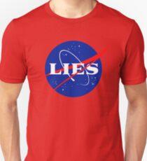 NASA LIES LOGO Unisex T-Shirt