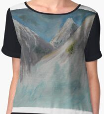 Mountains Chiffon Top