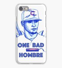 Javier Baez: One Bad Hombre iPhone Case/Skin