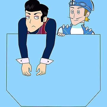 Robbie Rotten and Sportacus in your pocket by iedasb