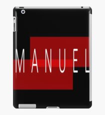 Manuel  iPad Case/Skin