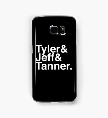 Tyler & Jeff & Tanner Samsung Galaxy Case/Skin
