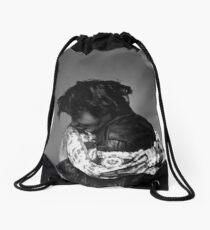 River & Keanu Drawstring Bag