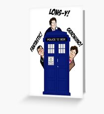 doctor who Greeting Card