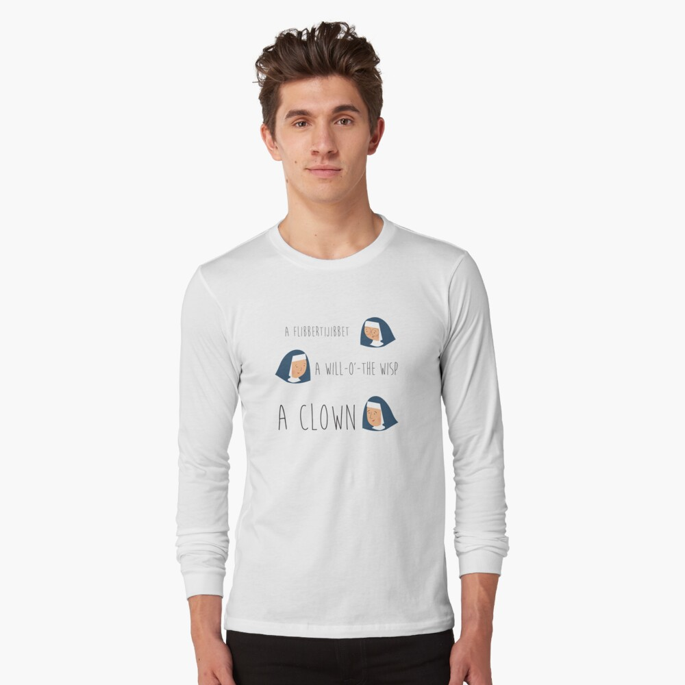Sound of music nuns Long Sleeve T-Shirt