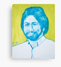 The young Steve Wozniak in oil painting! Canvas Print