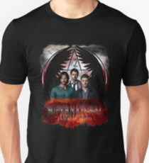 Supernatural Family Dont end with blood T-Shirt