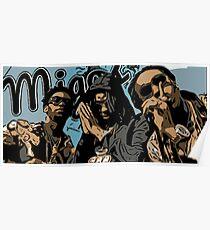 Migos Graffiti  Poster