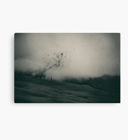 Self And Nature, Releasing My Worries I  Canvas Print