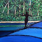 Glide Girl In Paradise - Kassia Meador_2 by David Bell
