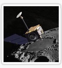 Künstlerkonzept des Lunar Reconnaissance Orbiter. Sticker